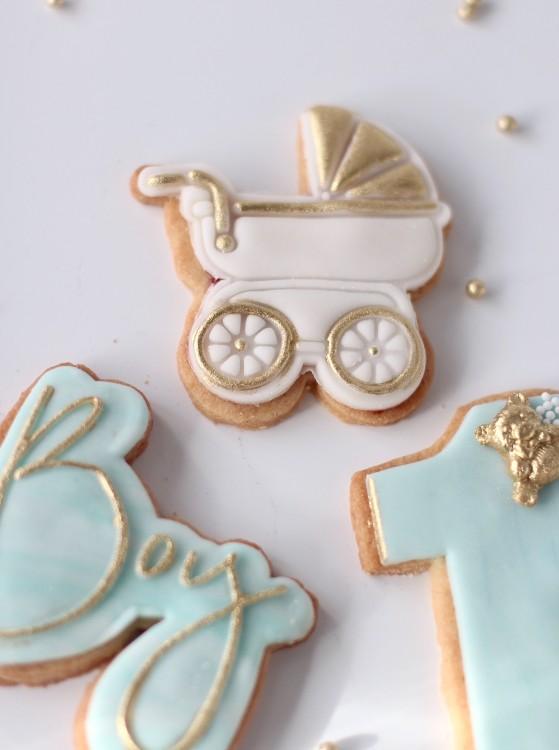 Fondant Covered Sugar Cookies