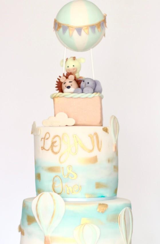 Themed Fondant Cake