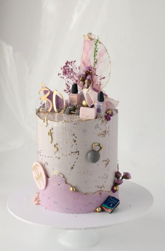 Themed buttercream cake