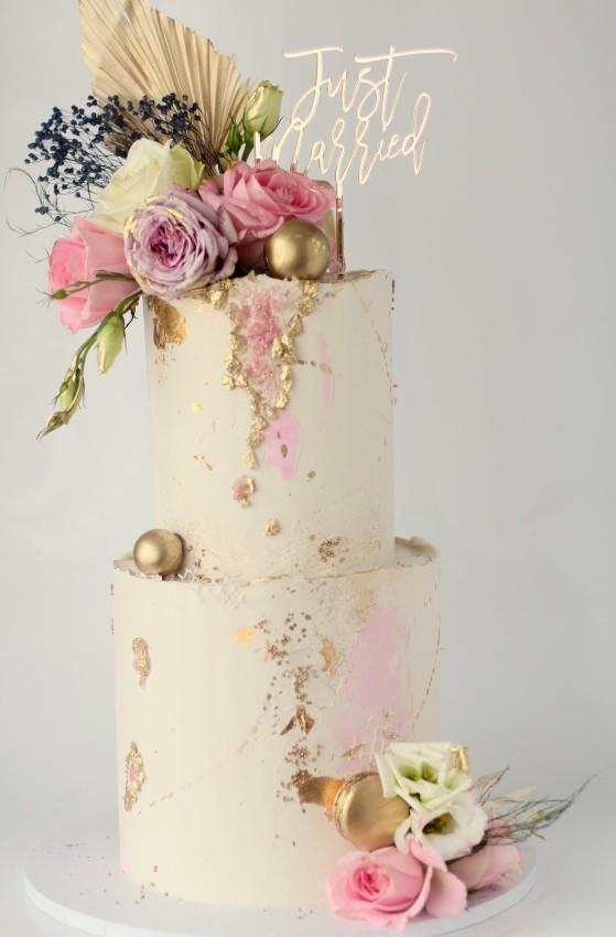 Tiered Buttercream Cake